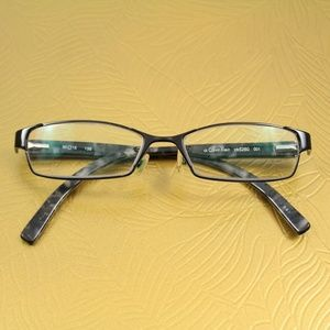 Calvin Klein CK 5260 001 Black Marble Eyeglasses